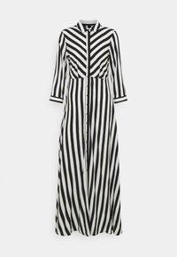 YAS - YASSAVANNA LONG DRESS - Maksimekko - black/ white stripes - 5