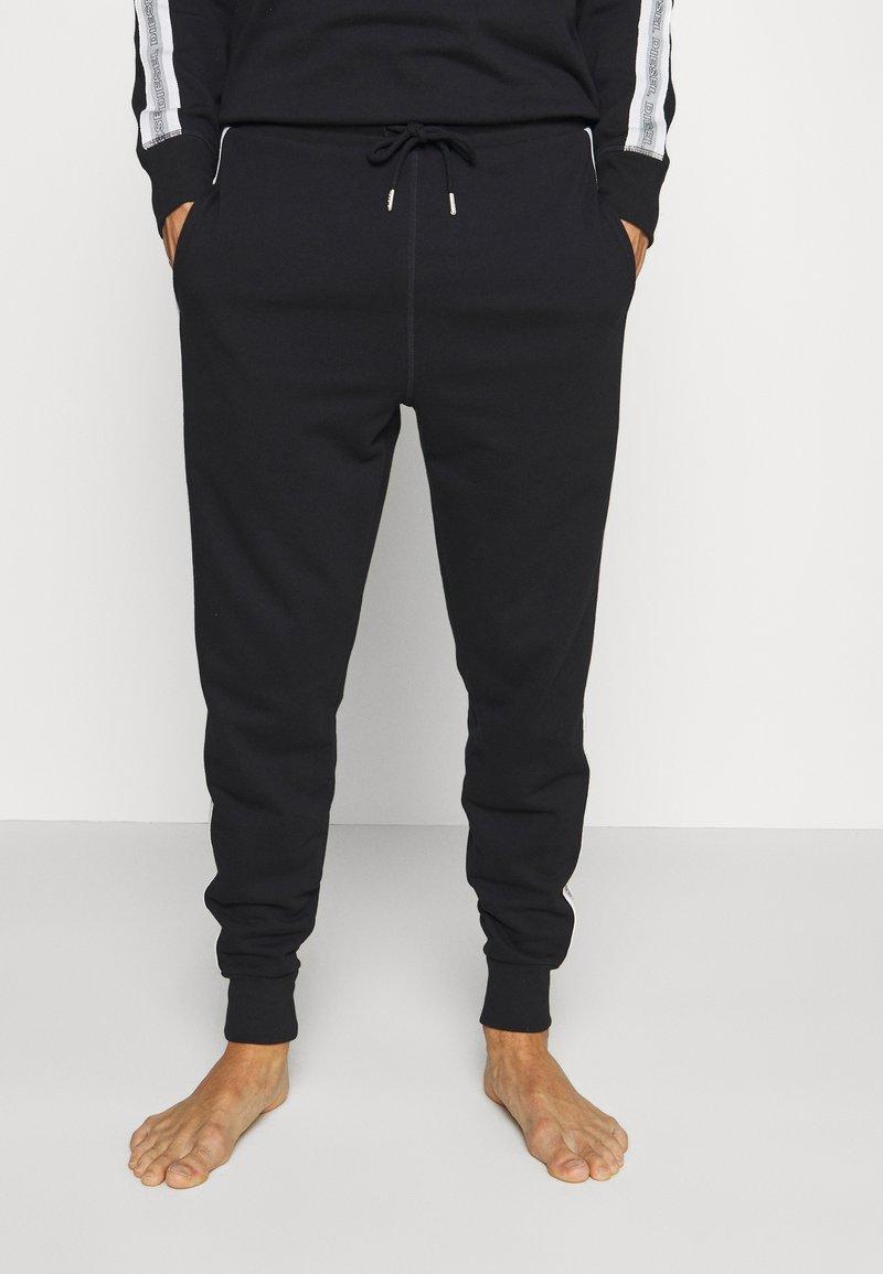 Diesel - UMLB-PETER TROUSERS - Pyjama bottoms - black