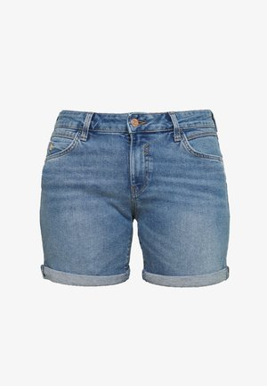 PIXIE - Denim shorts - mid brush milan