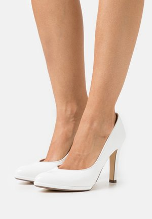 HERDI - High Heel Pumps - weiß bardy