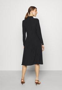 Lauren Ralph Lauren - TRIPLE GEORGETTE DRESS - Day dress - polo black - 2