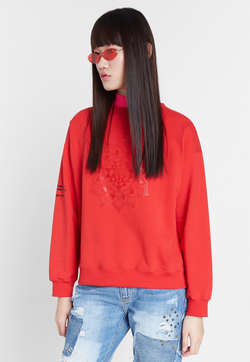 Desigual - MALAUI - Sweatshirt - red