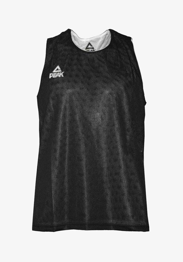 MIT PLUS COOL-TECHNOLOGIE - Sports shirt - noir-blanc