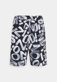 Jordan - ZION WILLIAMSON SHORT - Sports shorts - black/light smoke grey/white - 5