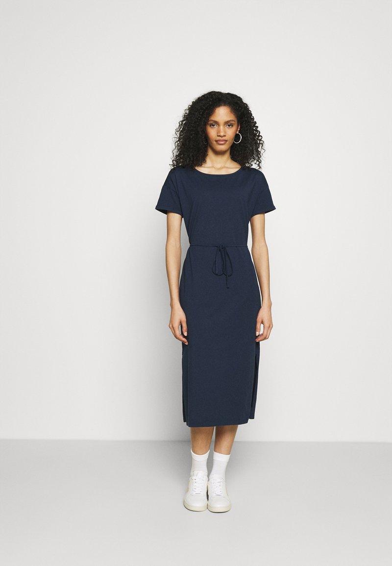 edc by Esprit - CRISPY DRESS - Maxi dress - navy