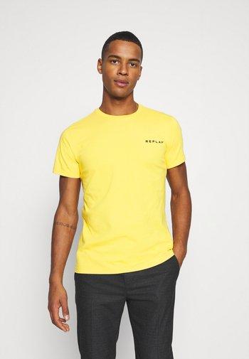 TEE - T-shirt - bas - yellow