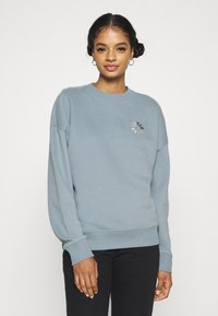 Scotch & Soda - LOOSE FIT CREW NECK - Sweatshirt - french blue - 0