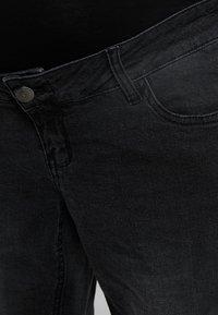 Forever Fit - MOM  - Slim fit jeans - washed black - 5