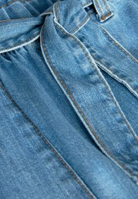 Next - CHARCOAL PAPERBAG TIE WAIST JEANS (3-16YRS) - Relaxed fit jeans - blue - 2