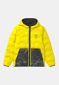 Automobili Lamborghini Kidswear - QUILTED HEXAGONS - Winter jacket - black pegaso - 2