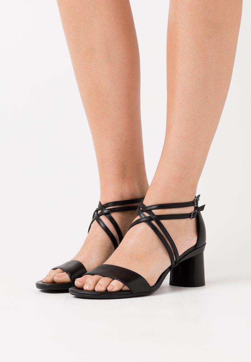 ECCO - ELEVATE 65 - Sandals - black santiago