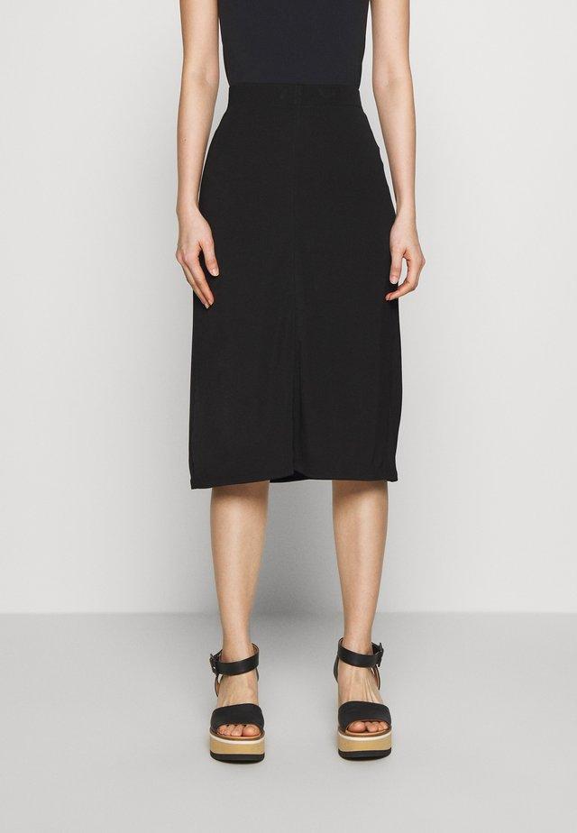 MARGARET SKIRT - Pouzdrová sukně - black