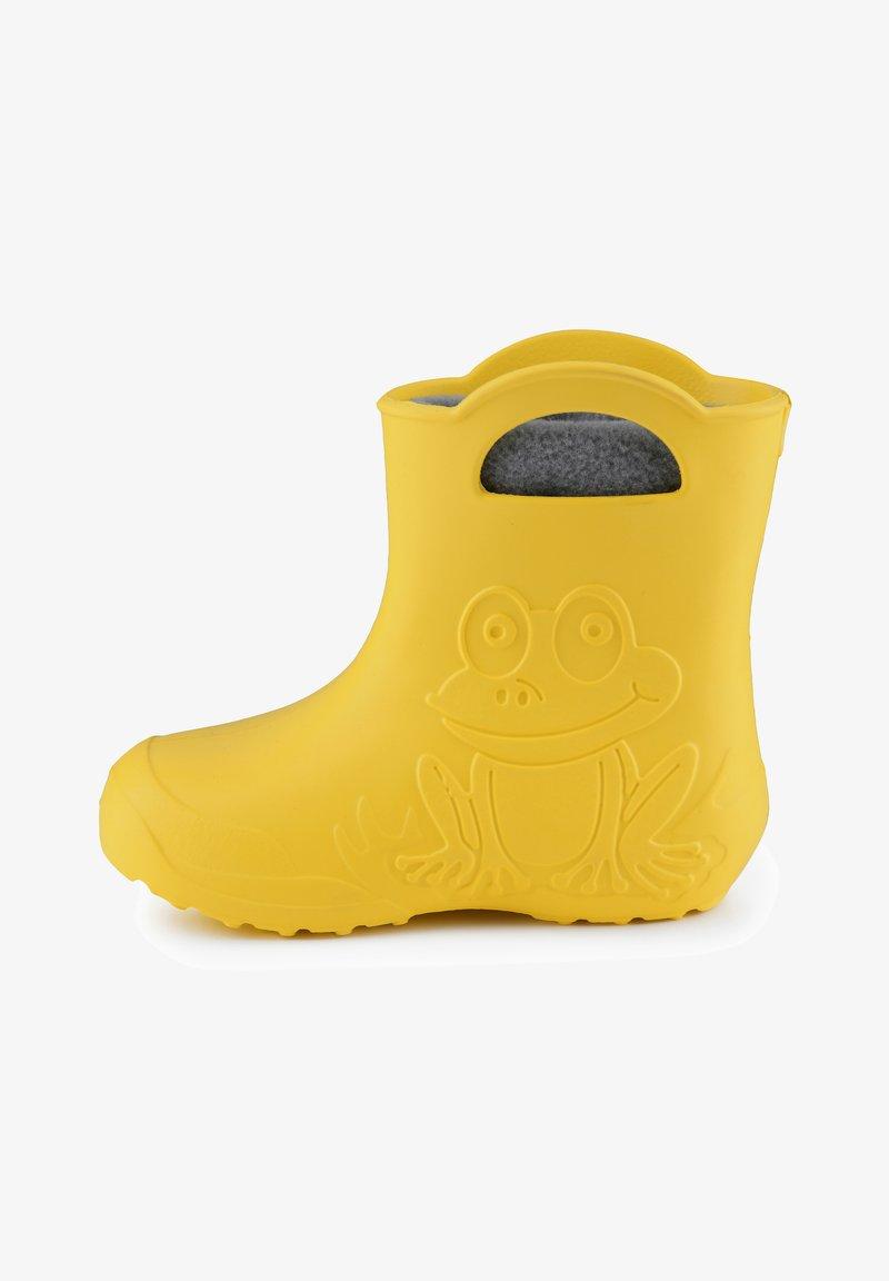 Ladeheid - Regenlaarzen - yellow/grey