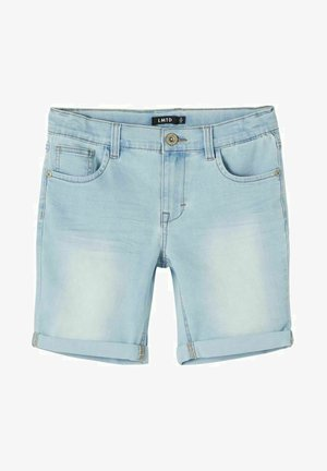 Jeans Short / cowboy shorts - light blue denim