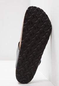 Birkenstock - GIZEH - T-bar sandals - icy metallic anthracite - 4