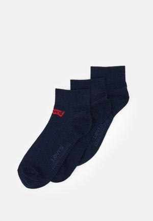 MID CUT BATWING LOGO 3 PACK - Socken - navy