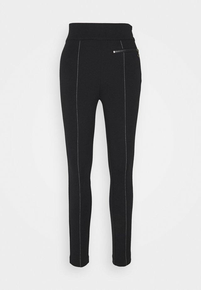 Spodnie materiałowe - marine