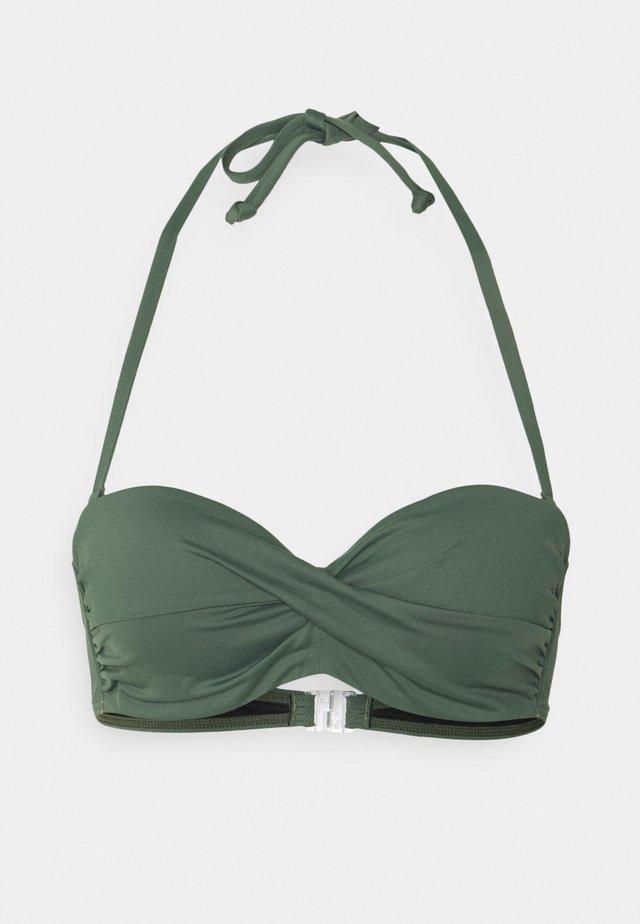 Bikini top - olive