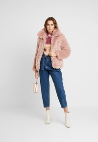 Topshop - FLUFFY JONAS - Winter jacket - pink - 1