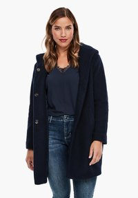 Triangle - Classic coat - navy - 3
