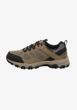 SELMEN - Sneakers basse - tan leather w/ mesh