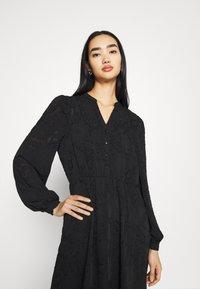 ONLY - ONLEVA MIDI DRESS - Maxi šaty - black - 4