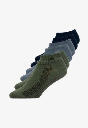 SNEAKER SOCKEN - Socks - dunkelblau/olive/blau