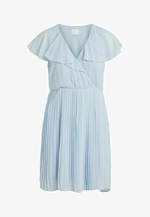 VIKATELYN PLEATED - Vestido de cóctel - cashmere blue