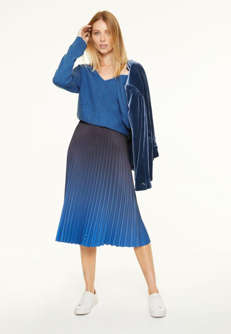 comma - Jumper - mottled blue