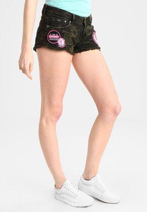 Denim shorts - punk