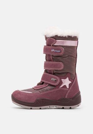 Winter boots - vinaccio/lilla
