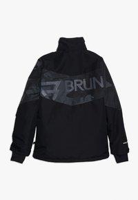Brunotti - DAKOTO BOYS SNOWJACKET - Snowboard jacket - black - 2