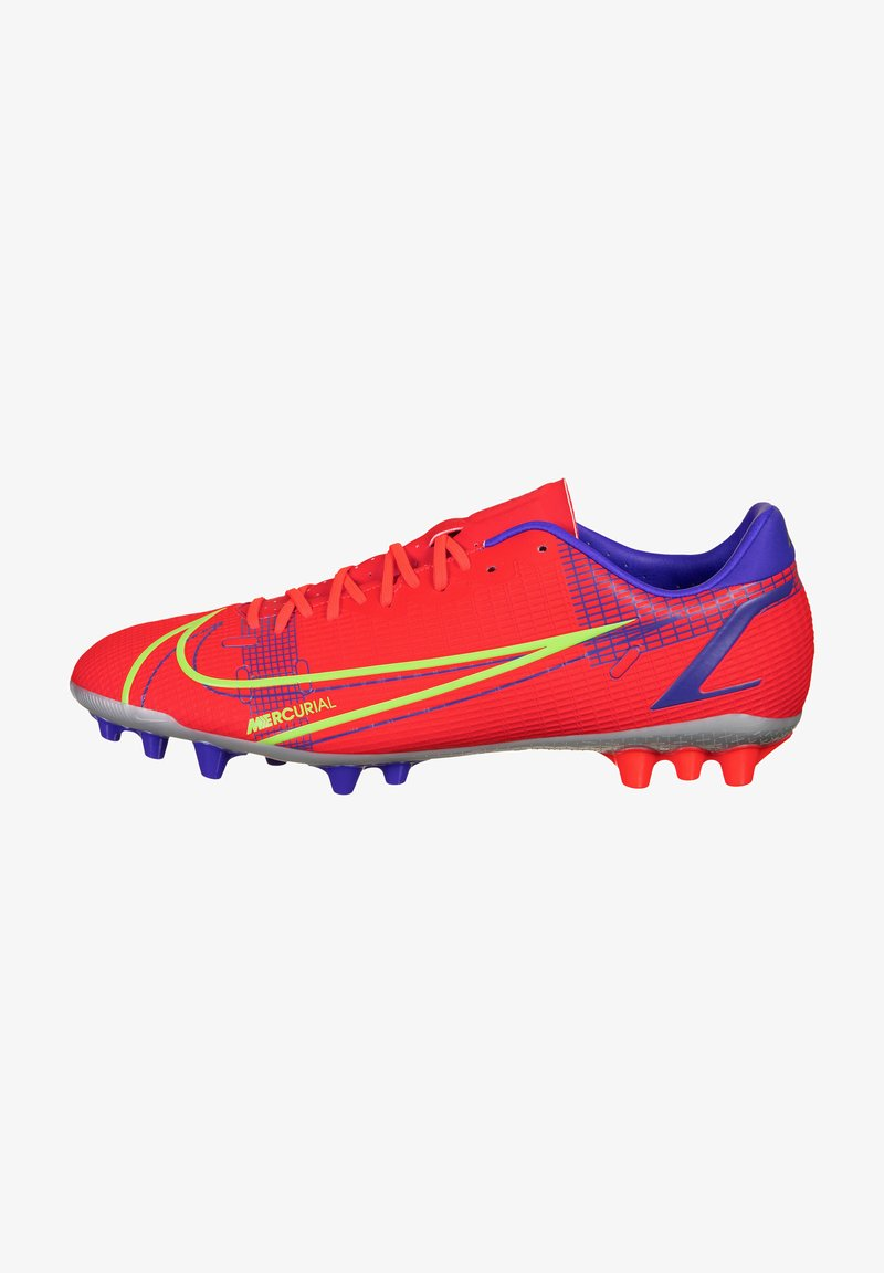 Nike Performance - MERCURIAL VAPOR ACADEMY AG F - Moulded stud football boots - bright crimson/metallic silver