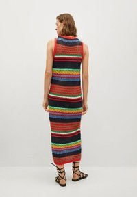 Mango - COLORI - Pouzdrové šaty - rouge - 2