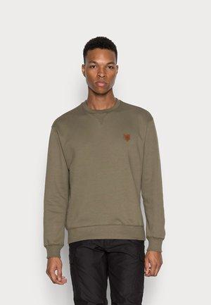 JPRBLUDAN CREW NECK  - Sweatshirt - dusty olive/fit cropped fit