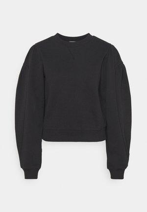 PUFF SLEEVE - Sweatshirt - black