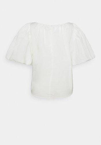 SANDRA PUFF - Print T-shirt - cream