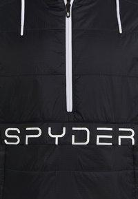 Spyder - GLISSADE ANORAK - Kurtka snowboardowa - black - 2