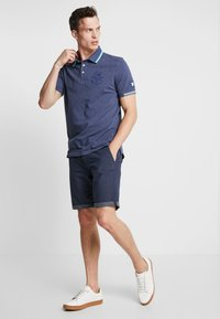 TOM TAILOR - DECORATED  - Poloshirts - bright cosmos blue melange - 1