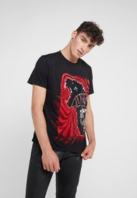 Just Cavalli - T-Shirt print - black - 0