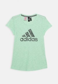 adidas Performance - T-shirt print - glory lime/green six - 0