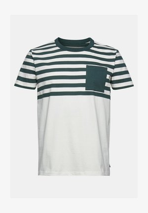 T-shirts print - teal blue