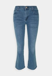 J Brand - SELENA MID RISE CROP BOOT - Jeans Skinny Fit - vivacious - 3