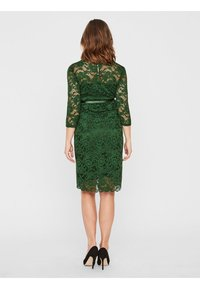 MAMALICIOUS - MLMIVANA DRESS - Vestido de cóctel - evergreen - 2