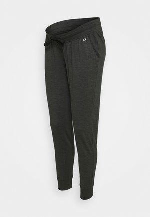 UNDERBELLY MIX - Teplákové kalhoty - true black