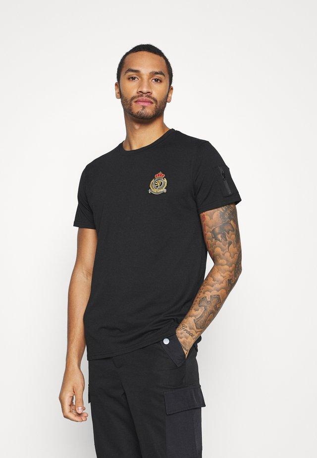 FELIX - T-shirt print - jet black