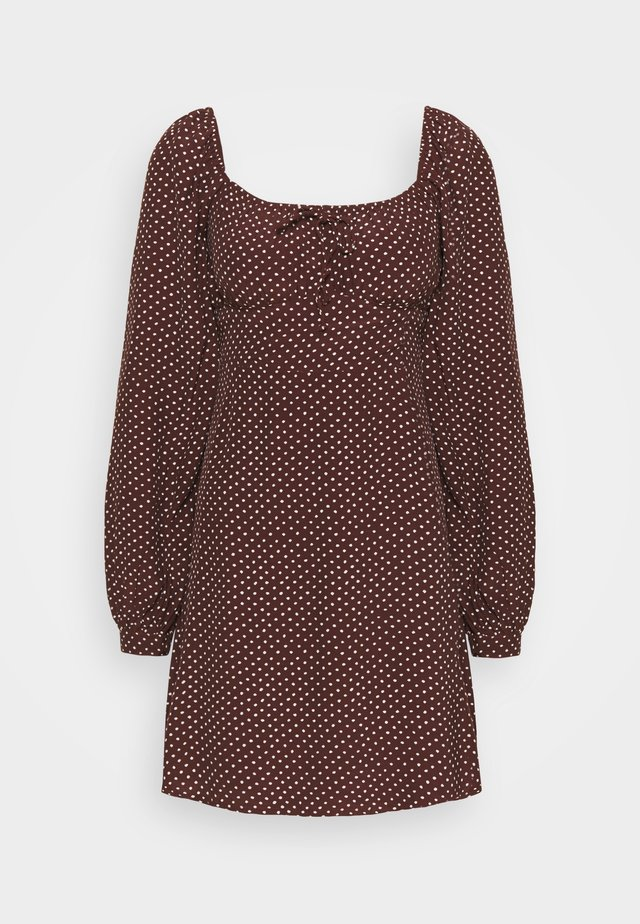 SHANNALI MINI DRESS - Vardagsklänning - bonnie dot print