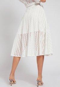 Guess - A-line skirt - weiß - 2