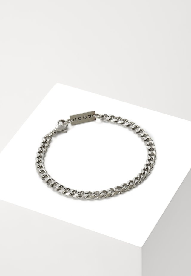 FOUNDATION CHAIN BRACELET - Armbånd - silver-coloured