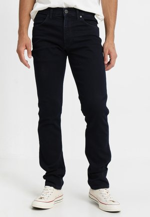GREENSBORO - Straight leg jeans - black back